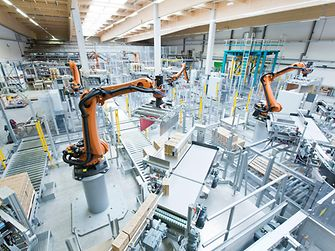 The use of robots can make it easier to produce and check high-quality products, which ultimately increases efficiency.