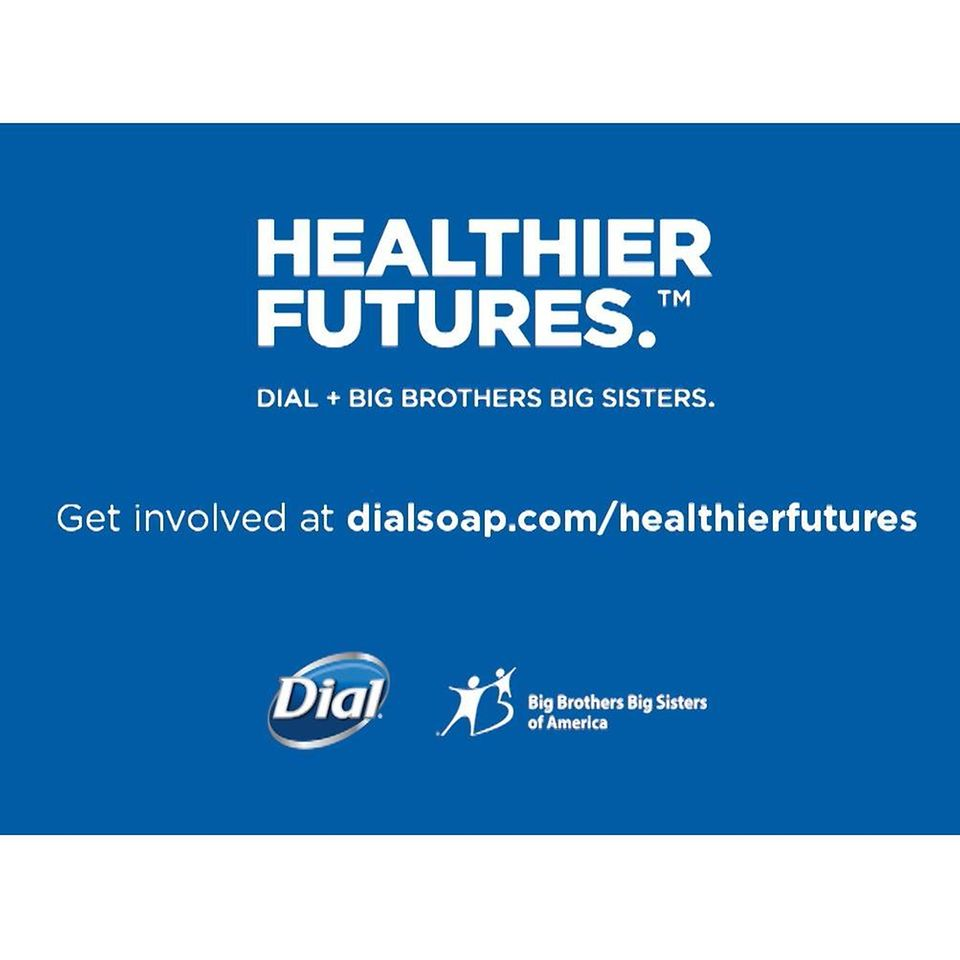 Healthier Futures™ is a joint initiative through Dial® and BBBS. Through events, monetary and product donations, it aims to promote wellness to improve overall health and well-being for all families.