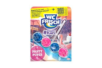 Die WC Frisch Limited Edition MyHappyPlace Party Puper
