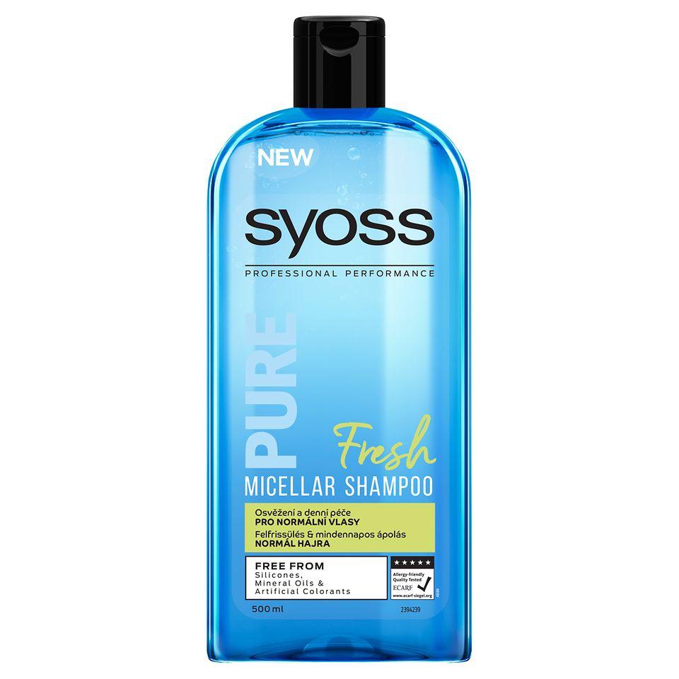 SYOSS PURE FRESH micelárny šampón