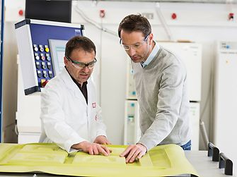 Henkel Connect is being tested in a 3D thermoforming application, with a sensor kit monitoring different variables such as pressure, temperatures and humidity