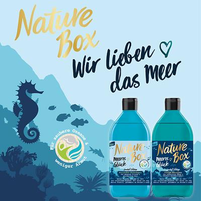 Wir lieben das Meer!  Nature Box Limited Edition Meeres Glück