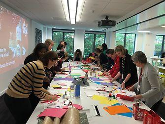 Henkel UK participating in crafting to help support children around the world