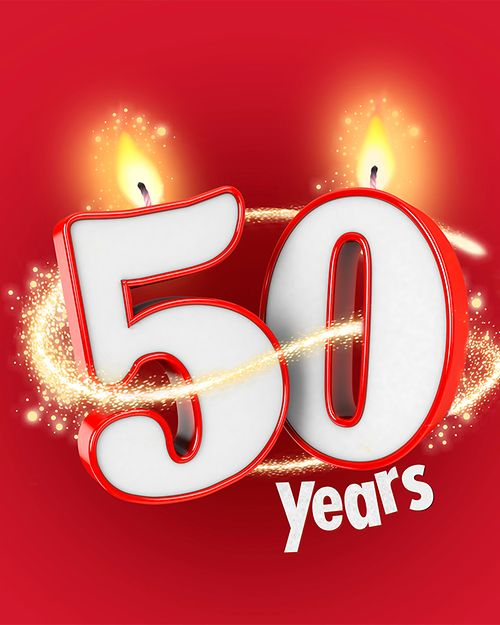 Pritt is celebrating its 50th anniversary