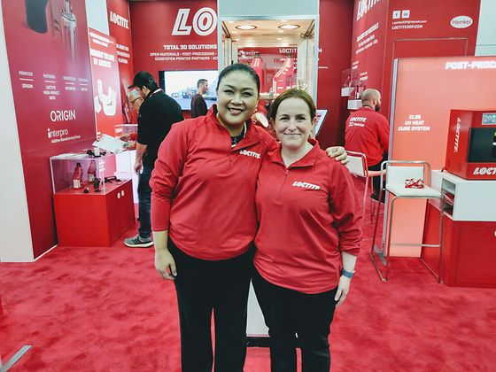 Women of Henkel at the conference RAPID 2019: Cindy Deekitwong and Deborah Moore