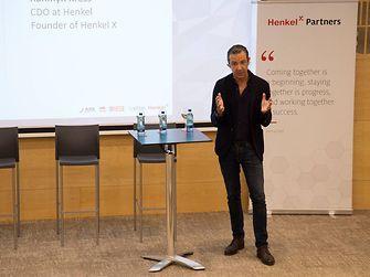 Dr. Rahmyn Kress, CDO en Henkel y fundador de Henkel X