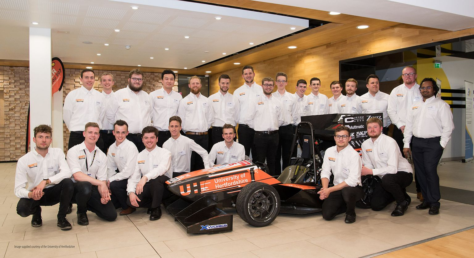 University of Hertfordshire Formula Student team