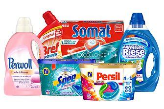 Die teilnehmenden Marken des Henkel-Familien-Rabatts
