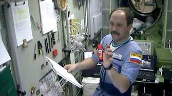 Reliable even without gravity: Since 2001, the Pritt glue stick has been used as an adhesive by astronauts working at the International Space Station (ISS).