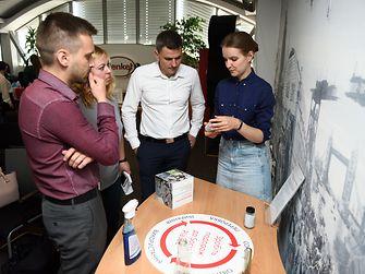 У межах Henkel Sustainability Week компанія Henkel в Україні провела у своїх офісах виставку «Пластикова упаковка @ Henkel»