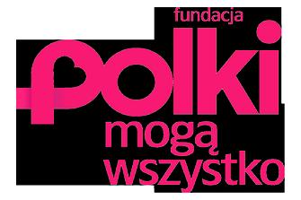 Logo Fundacji Polki Mogą Wszystko