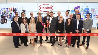 Leaders from Henkel North America celebrate the opening of the Henkel Experience Center in Stamford, CT.