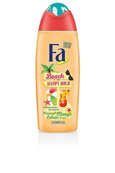 Fa Beach Happy Hour Duschcreme mit exotischem Mango-Colada-Duft
