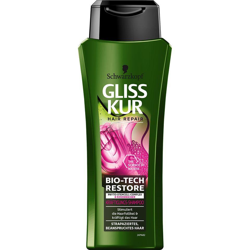Gliss Kur Bio-Tech Restore Kräftigungs-Shampoo