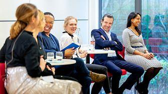 Dr Rahmyn Kress (2nd from right), Chief Digital Officer at Henkel