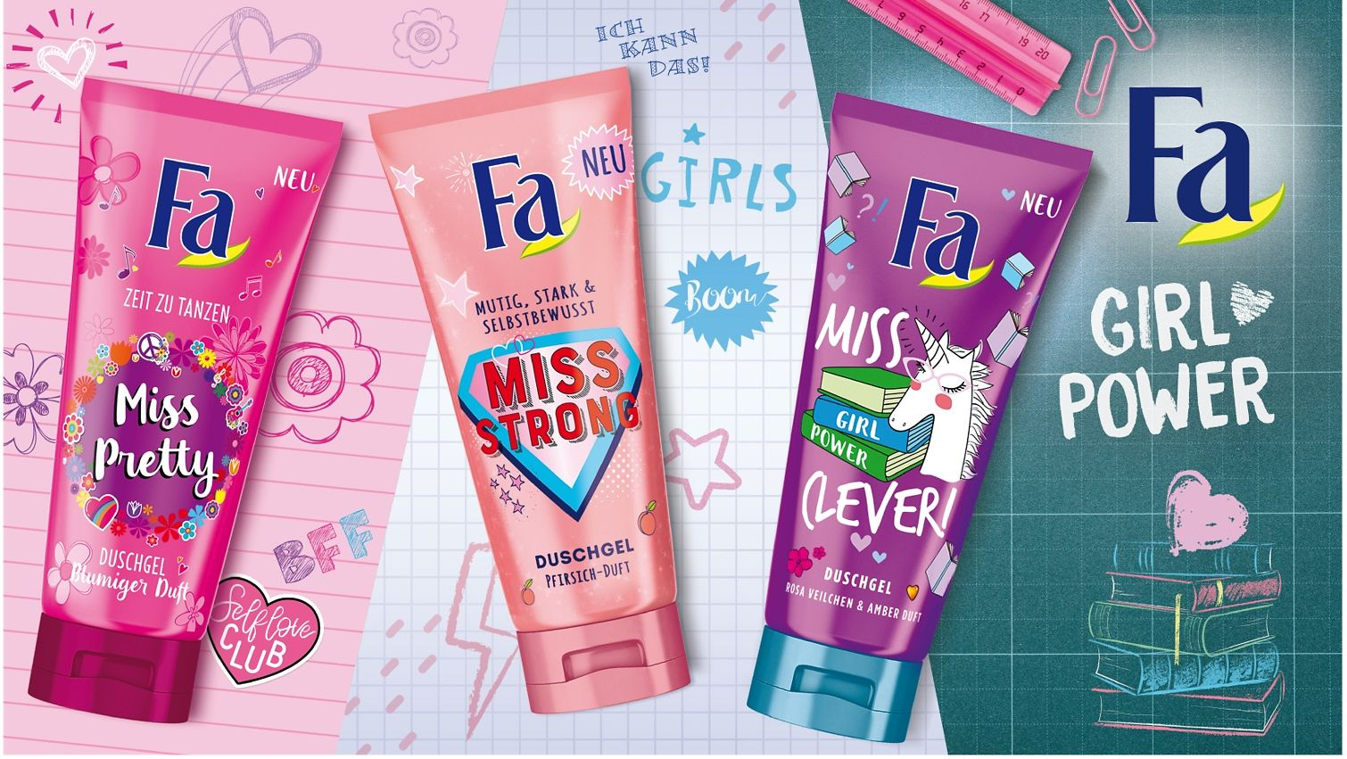 Die Fa Girl Power Collection
