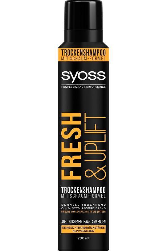 Syoss Fresh & Uplift Trockenshampoo mit Schaum-Formel