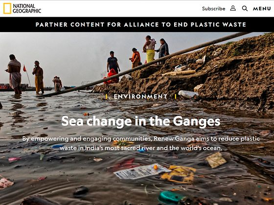 National Geographic portrays one of the first Renew Oceans projects