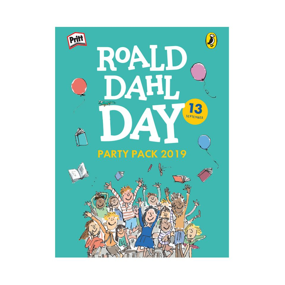 Roald Dahl Day 2019 Party Pack  cover