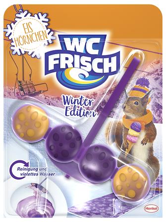 """Die limitierte WC Frisch Winter-Edition in der Variante """"Eis Hörnchen"""""""