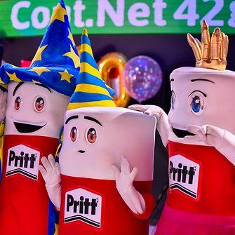 Pritt celebrando su 50 aniversario