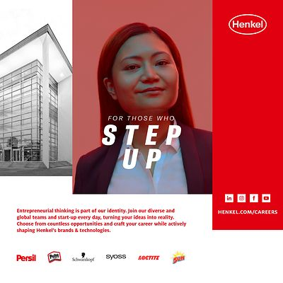 """For Those Who Step Up"" is a global campaign that steps into a dialogue with the leaders of tomorrow and encourages them to continuously learn and grow in their careers."