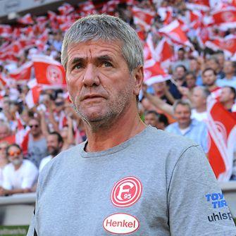 Friedhelm Funkel, Cheftrainer von Fortuna Düsseldorf