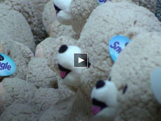 a heap of Snuggle teddy bears