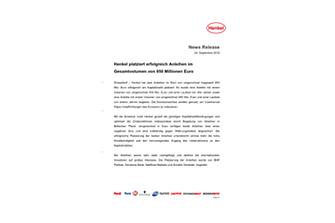 2019-09-24-News Release_Henkel_Anleihen_September_2019-pdf.pdfPreviewImage
