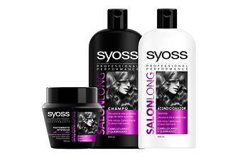 GAMA SYOSS SALON LONG. Gama multi-beneficio anti-rotura para dar respuesta a las necesidades de los cabellos largos