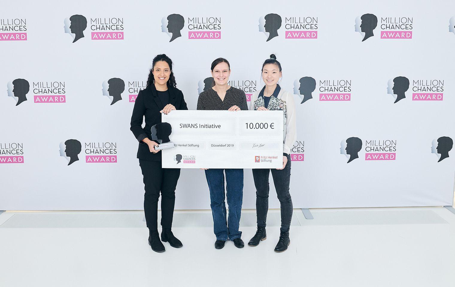 Schwarzkopf Million Chances Award 2019 - Gewinner SWANS Initiative