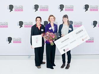 Schwarzkopf Million Chances Award 2019 - Gewinner CyberMentor