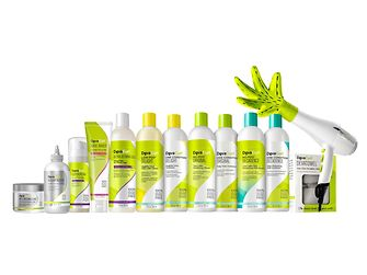 DevaCurl's product range includes cleansers, conditioners, styling products, styling accessories, and treatments.