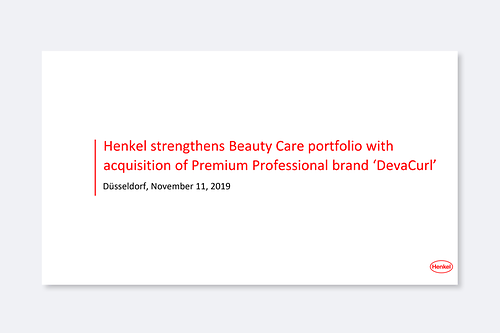 2019.-11-11_Key Facts_Henkel_to_acquire_DevaCurl.pdfPreviewImage
