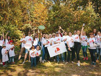 К глобальной акции присоединились более 100 волонтёров Henkel из России